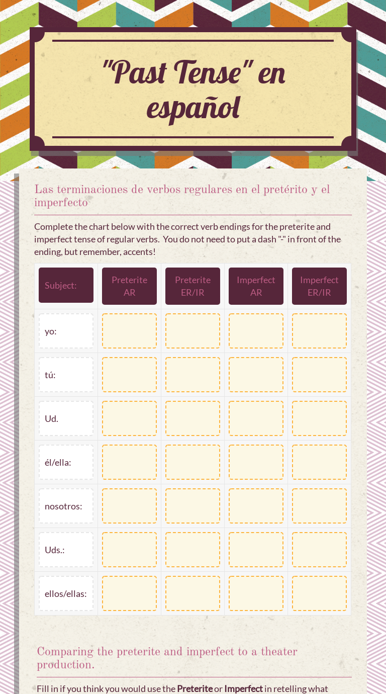 Worksheet Preview By Florencia Gascon Amyx Blended Worksheets Wizer