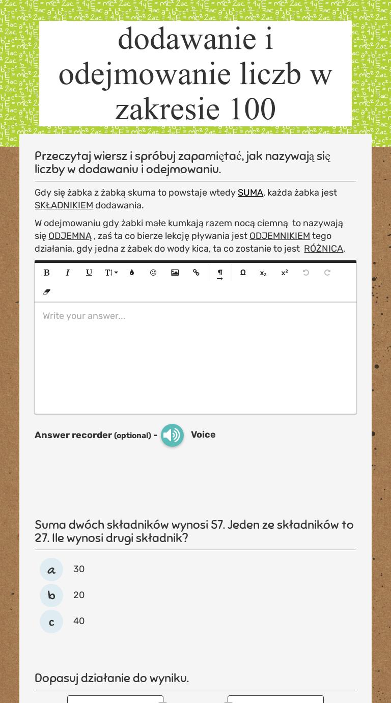 Worksheet Preview Blended Worksheets Wizerme